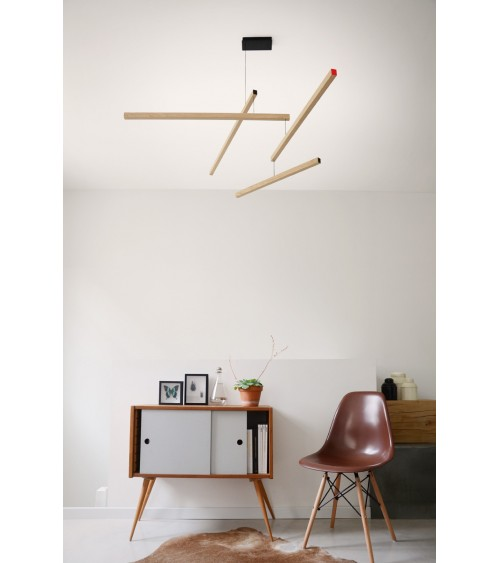 Lampe suspension design TASSO CLOWN