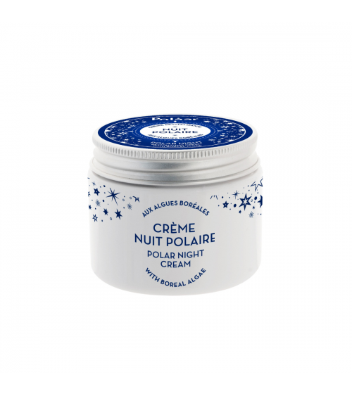 Crème revitalisante aux algues boréales - Nuit polaire - Polaar