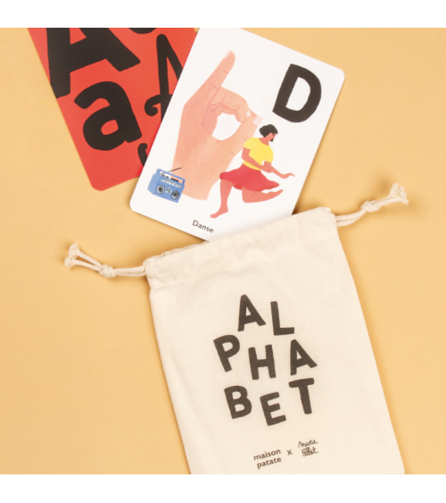 26 Cartes alphabet - Maison Patate