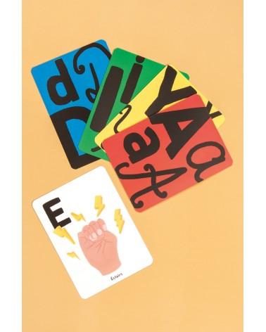 26 Cartes alphabet - Maison Patate
