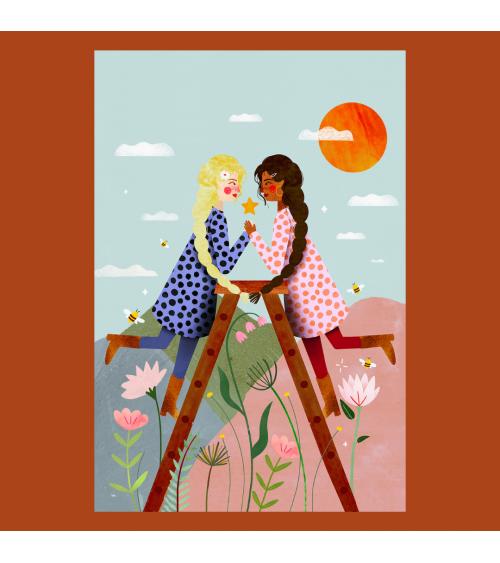 Affiche Gémeaux - Maison Patate