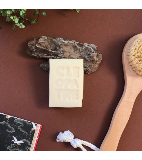 Savon CLÉÔPATRE au lait d'ânesse bio - Dodo House