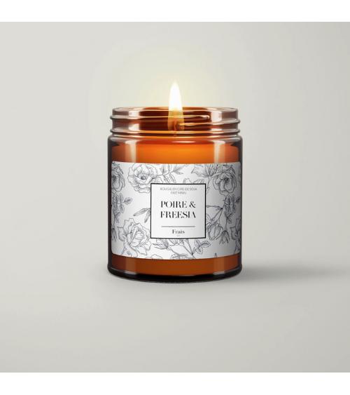 Bougie Poire & Freesia - Frais Co