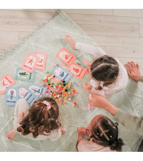 Jeu de cartes ludiques - Little Yogi Gang