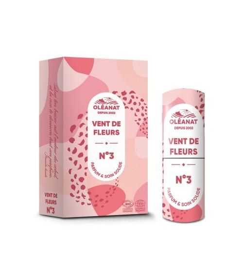 Parfum Solide Vent de fleur N°3 - BIO - Oléanat