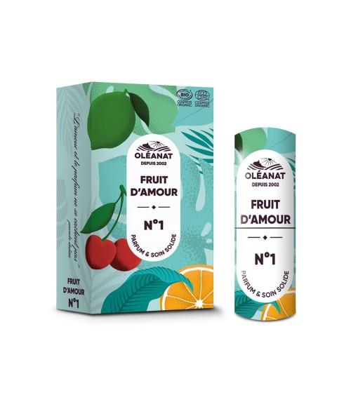 Parfum Solide Fruit d'amour n°1 BIO - OLEANAT
