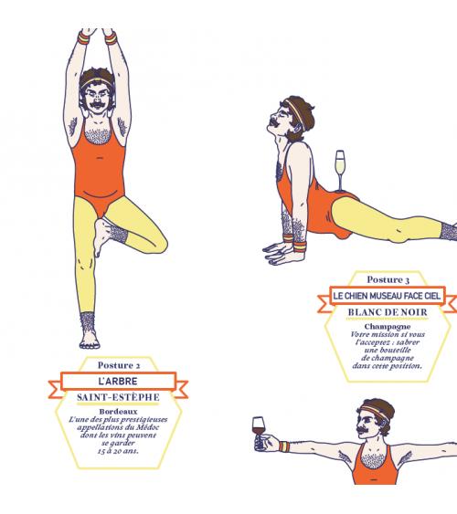 Affiche - Vin & Yoga