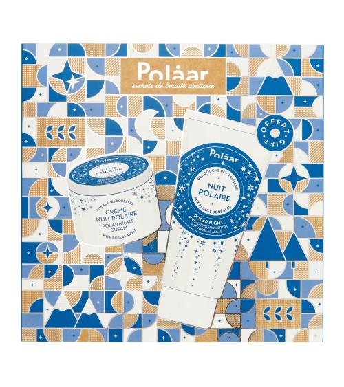 Coffret Crème nuit polaire & Gel douche revitalisant