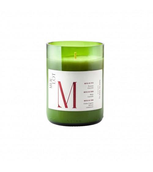 Bougie Parfumée Cépage Merlot - Maison Tchin Tchin