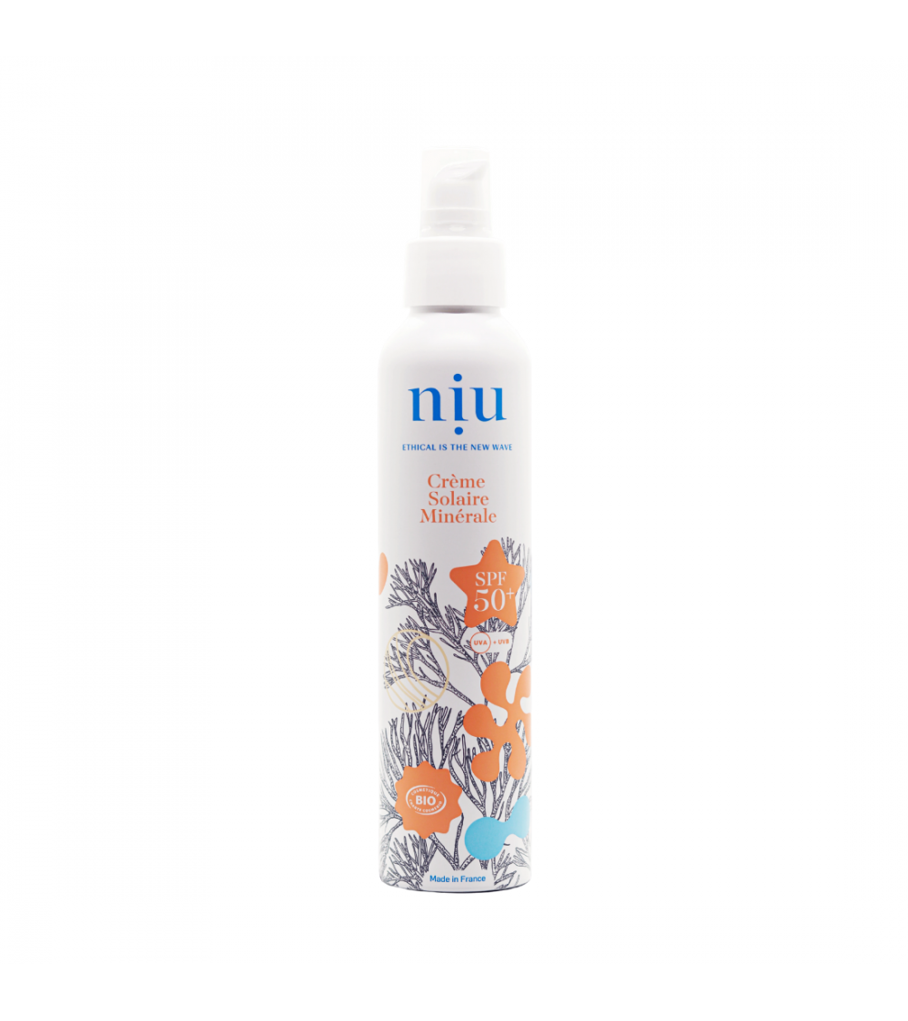 Crème solaire NIU - SPF50+ - 100ml Niu
