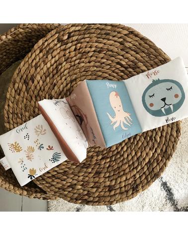 Livre d'éveil - Les animaux de la mer - Carotte et Cie Carotte et compagnie
