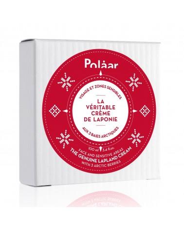 Crème Visage et Zones sensibles aux baies arctiques - La véritable crème de Laponie - POLAAR