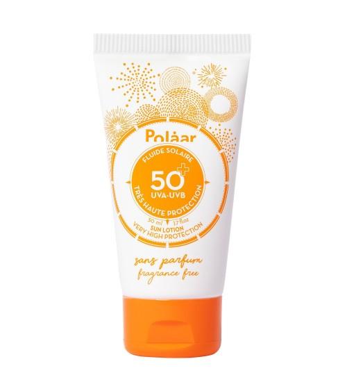 Fluide solaire SPF50+ Sans parfum - Polaar