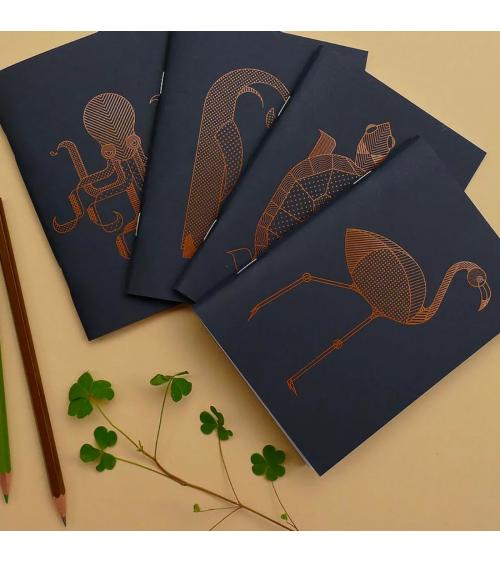 Série de mini carnets - Langoustine