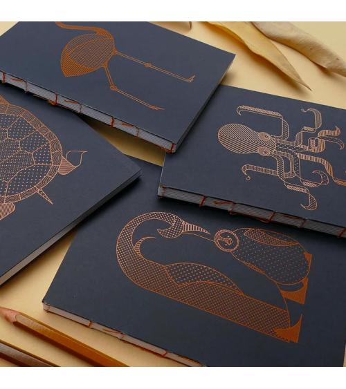 Série de carnets de poche - Langoustine