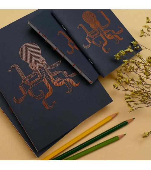 Série de carnets Poulpe - Langoustine