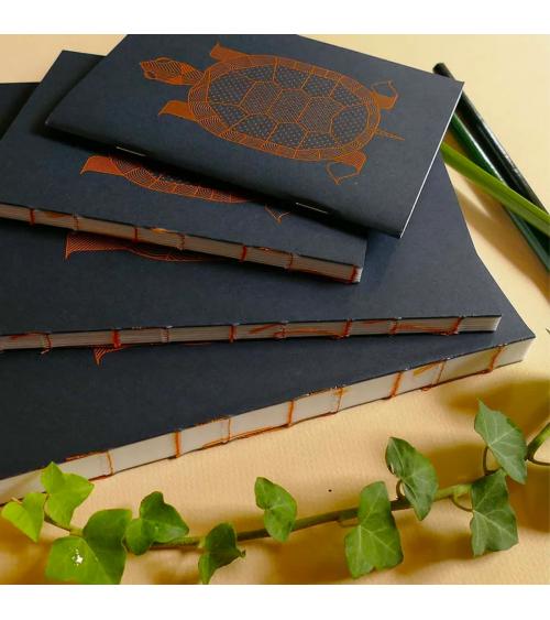 Série de carnets Tortue - Langoustine