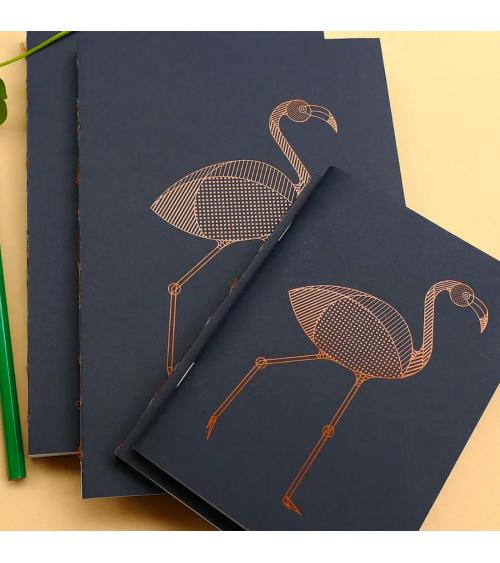 Série de carnets Flamant - Langoustine