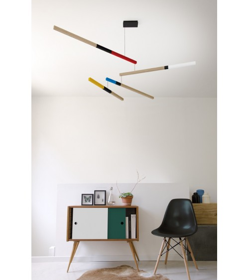 Lampe suspension design TASSO CUB
